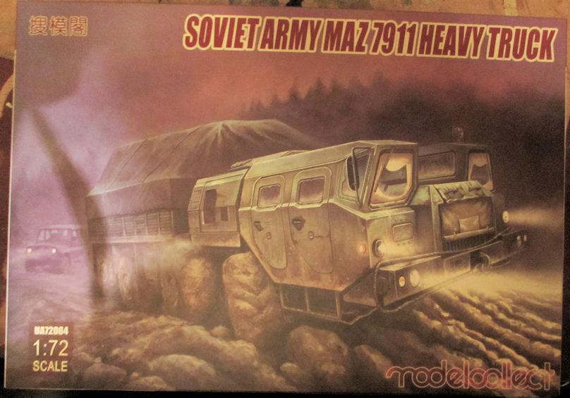 Modelcollect_Soviet_Army_MAZ_7911_Heavy_